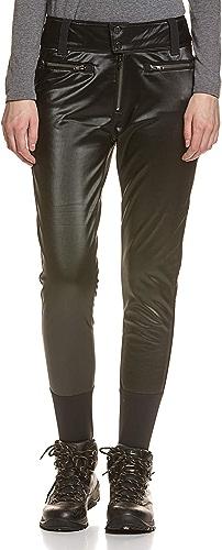 Spyder Luxe Painted on Softshell Pantalon de ski femme Noir