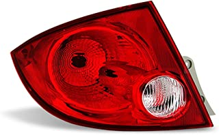 ACANII - For 2005-2010 Chevy Cobalt Sedan / 05-2008 Pontiac G5 Pursuit Rear Replacement Tail Light - Driver Side Only