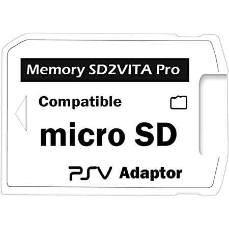 LEXINCHENG Professional Small size version 5.0 SD2VITA compatibile per PS Vita memory card TF per Psv Psvita Game CARD1000/2000 compatibile