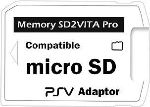 Ultimate Version SD2Vita 5.0 - Adaptador de Tarjeta de Memoria, PS Vita PSVSD Micro SD PSV 1000/2000 PSTV FW 3.60 HENkaku Enso System