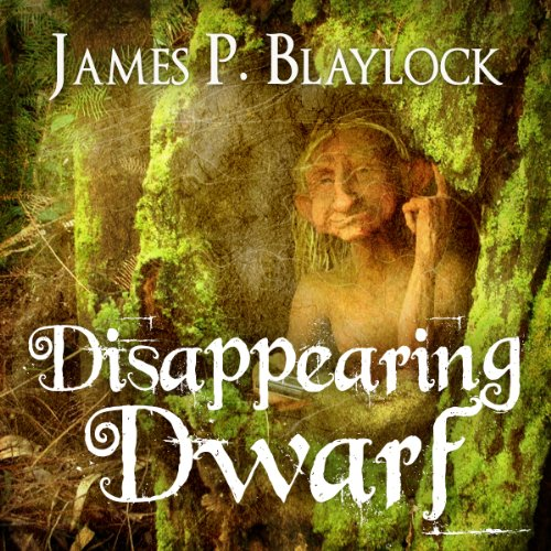 The Disappearing Dwarf audiobook cover art
