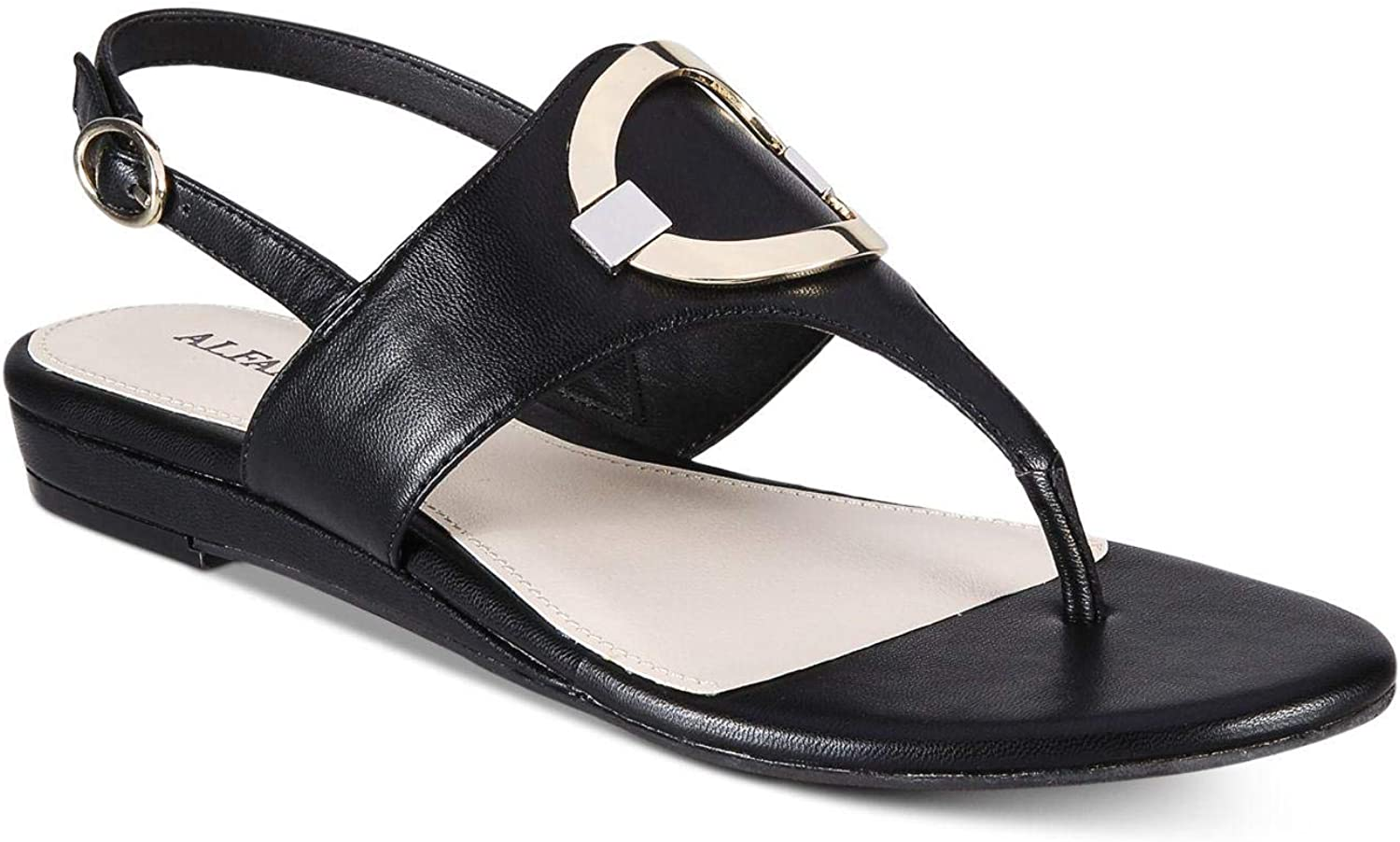 Alfani Womens Hamilyn Open Toe Casual Ankle Strap Sandals