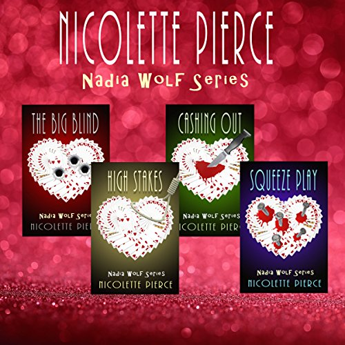 Nadia Wolf Series audiobook cover art