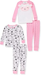 Carter's Baby Girls' 4 Pc Cotton 331g170