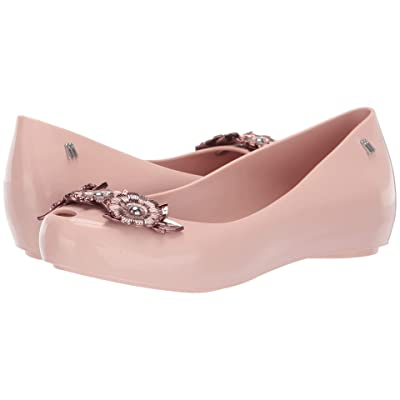 Melissa Shoes Ulightragirl Flower Chrome Me AD (Pink Glitter) Women