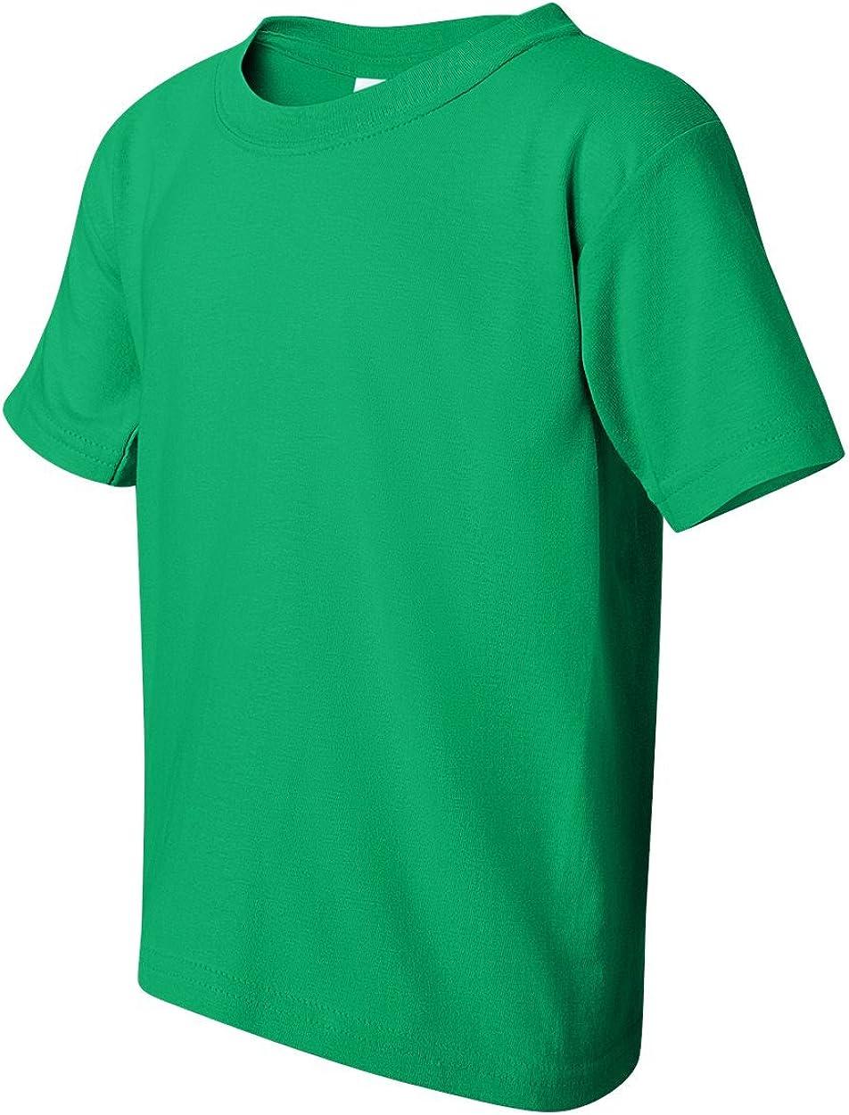 Gildan Youth Heavy Cotton T-Shirt, Irish Green, Large