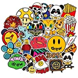 Sticker Pack for Pc Suitcase Laptop Motorcycle Styling Singer Justin Bieber Drew House Stickers 50Pcs