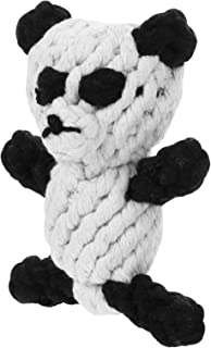 VILLCASE Plush Dog Toy Panda Animal Shaped Dog Toys Interactive Dog Crinkle Chew Toy for Puppy Small Medium Large Breed Co...
