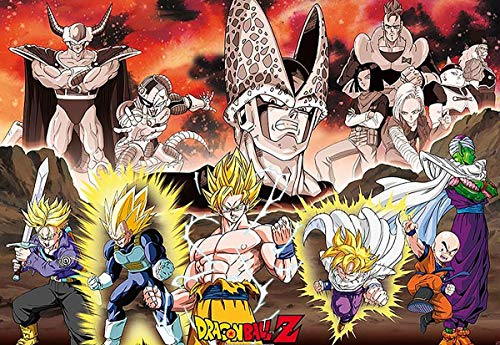 """ABYstyle - DRAGON BALL - Poster """"Groupe Arc Cell"""" (91.5x61)"""