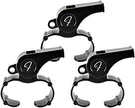 【3個セット】FLAIR フィンガーグリップホイッスル(プラスチック製) - フレア/Fingergrip Whistle - FLAIR