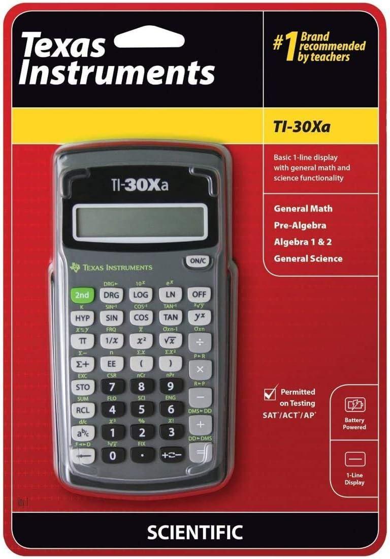 Texas Instruments TEXTI30XA favorite TI-30XA Calculato Student Scientific Store