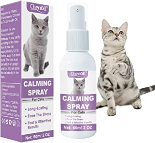 TOULIFLY Calming Spray, Reduce Your Pet's Anxiety or Aggression, Pheromones for Cats & Cat Anxiety Relief, Long-Lasting, F...