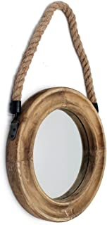 Best rustic mirror with rope Reviews