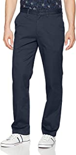 "Nautica mens Classic Fit Flat Front Stretch Solid Chino""deck"" Pant Business Casual Pants"