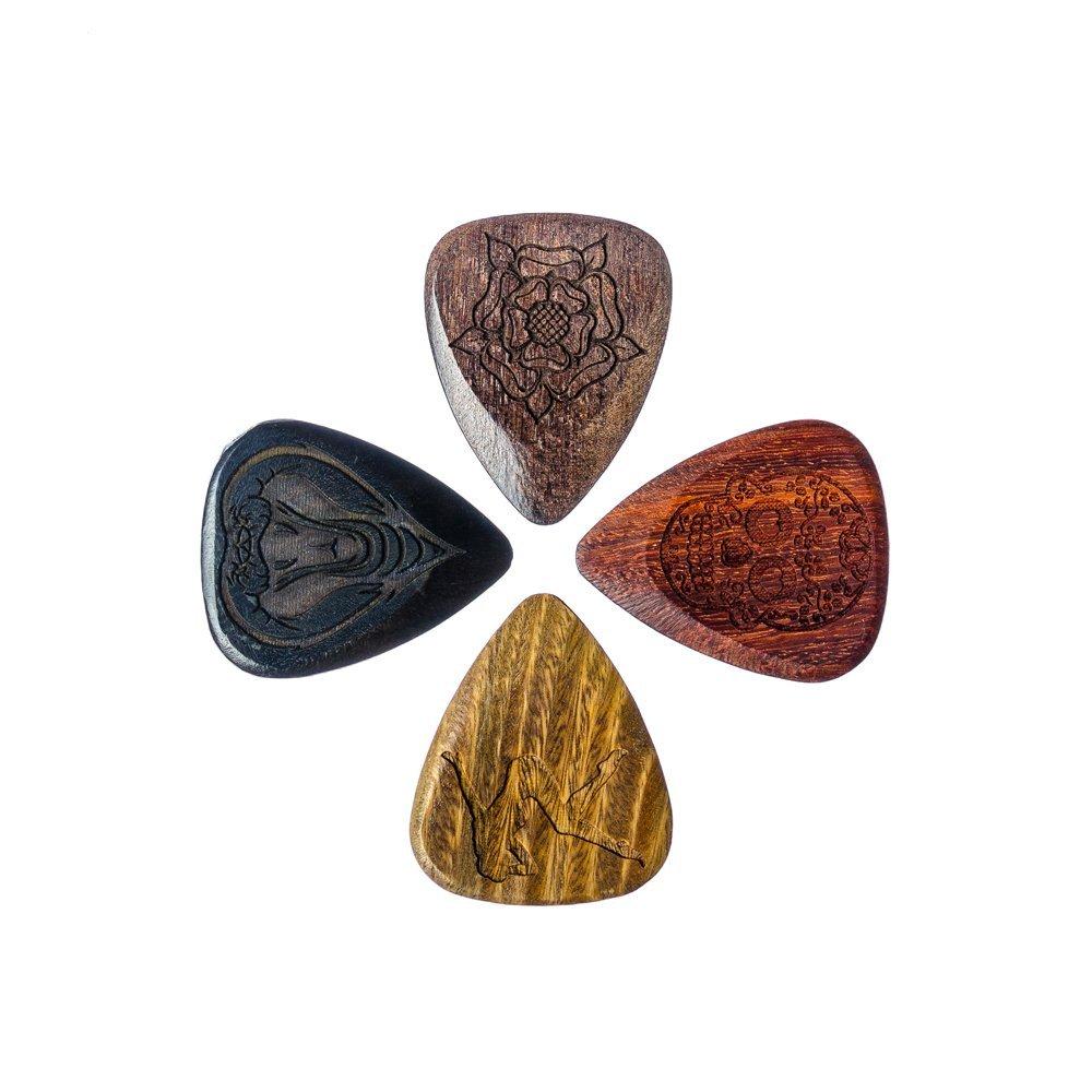 Tattoo TAT-MP-1 Tones - Juego de 4 púas para guitarra: Amazon.es ...