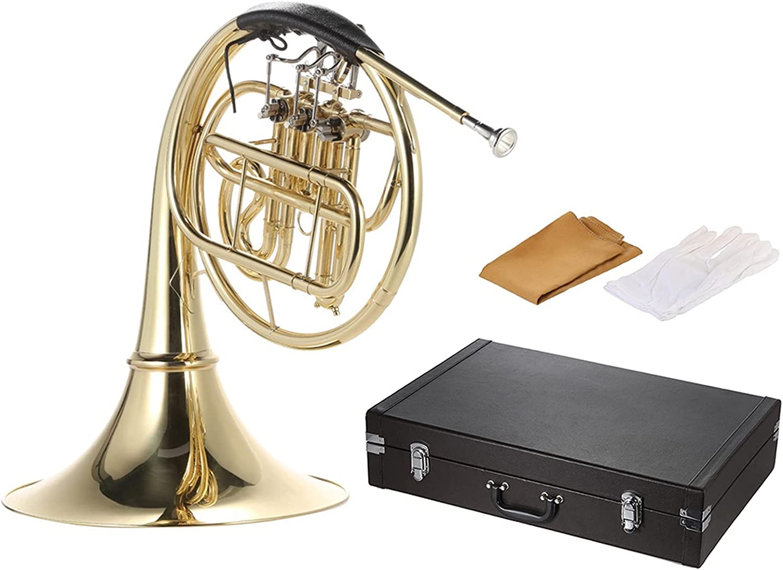 Standard Quality inspection Trumpets Horn B Bb Flat 3 Lacquer Key Brass Gold Single Kansas City Mall