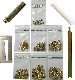 ebuildDirect Kwikset Bottom Pins with 4 Tools 50 Pins Rekey Kit Rekeying Set locksmith