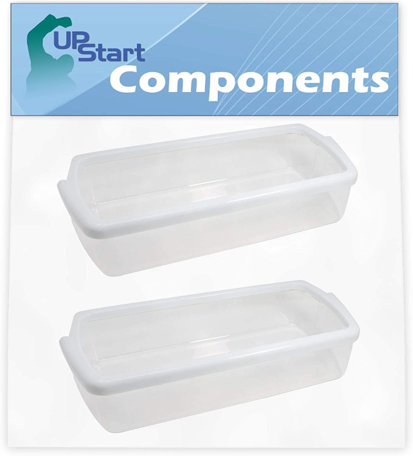 2-Pack Manufacturer regenerated product W10321304 Cheap super special price Refrigerator Door Bin Replacement Kenmore for S