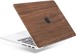Woodcessories - Skin kompatibel mit MacBook 13 Pro Touchbar Retina aus Holz - EcoSkin Walnuss
