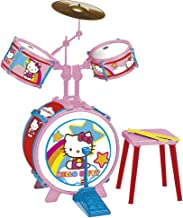 REIG Hello Kitty Drum Set with Stool (3 Pieces)
