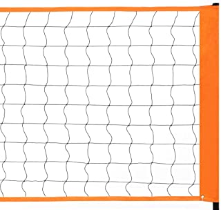Max4out Professional Sports Volleyball Net for Indoor or Outdoor Sports Backyard Schoolyard Pool Beach, Volleyball Replacement Net and Portable Badminton Net