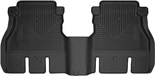 Husky Liners 14041 Fits 2018-19 Jeep Wrangler Unlimited 4 Door Weatherbeater 2nd Seat Floor Mat, Black