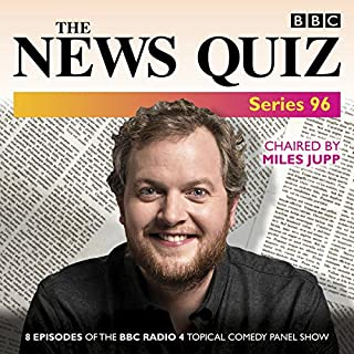 The News Quiz: Series 96 audiobook cover art