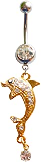Best nameplate belly ring Reviews
