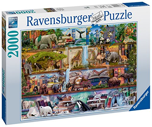 Ravensburger Aimee Stewart: Wild Kingdom Shelves-2000 Piece Jigsaw Puzzle