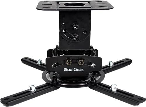 QualGear PRB-717-Blk Universal Ceiling Mount Projector Accessory