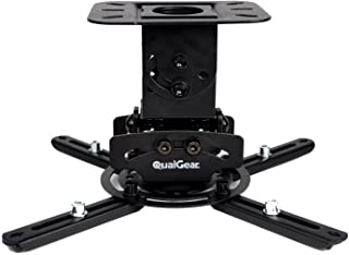 QualGear - PRB-717-BLK Universal Ceiling Mount Projector Accessory