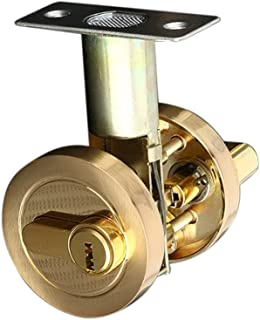 HOMYL Modern Heavy Duty Brass Cylinder Deadbolt Door Lock Home Security Dead Bolt Locks with 3Pcs Keys - #4, as described