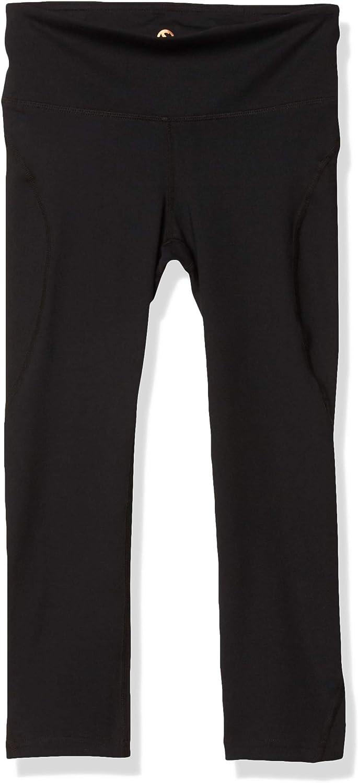 SHAPE activewear Women's s Capri, Black, Medium