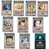 NONE One Piece Poster Wanted Luffy 1.5 Billion Reward O