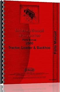 International Harvester 2500 Tractor Loader Backhoe Parts Manual