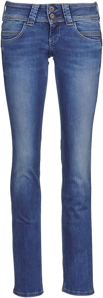 Pépé jeans,jeans per donna,14% synthtiques matire, 14% synthtiques matire, 84% cotone, 2% elastam, 14% poliest PL200029;D24 VENUS