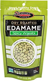 SeaPoint Farms - Edamame Dry Roasted Spicy Wasabi - 3.5 oz (pack of 2)