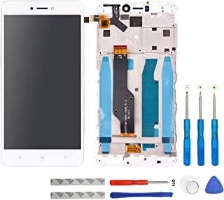 Swark - Pantalla LCD compatible con Xiaomi Redmi Note 4X / Note 4 Global (Qualcomm Snapdragon 625 CPU), color blanco