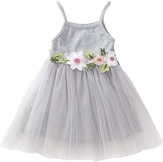 40201b190 Amazon.es: Gris - Vestidos / Niñas de hasta 24 meses: Ropa