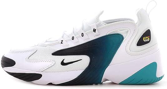 Nike Men's Zoom 2K AO0269-106 White/Black-Teal-Nebula (10.5 D (M ...