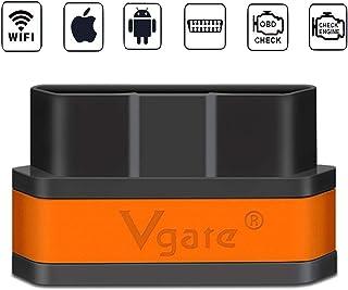 vgate WiFi iCar2 OBDII Elm327 Code Reader for iOS iPhone iPad Android PC,Auto Sleep