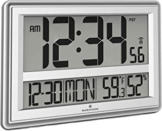 Best digital led wall clock with temperature indicator Reviews