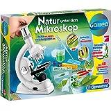 #0618 Galileo Natur unter dem Mikroskop mit 600 facher Vergrößerung für Kinder • Experimentier-Kasten Set
