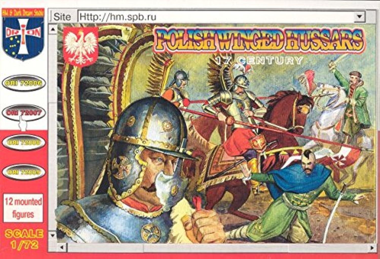 1 72 Polish Winged Hussars XVII Century (12 Mtd) (D)