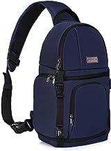 MOSISO Camera Sling Bag, DSLR/SLR/Mirrorless Case Water Repellent Shockproof Photography..