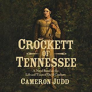 Crockett of Tennessee audiobook cover art