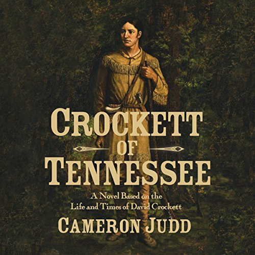 Crockett of Tennessee audiobook cover art