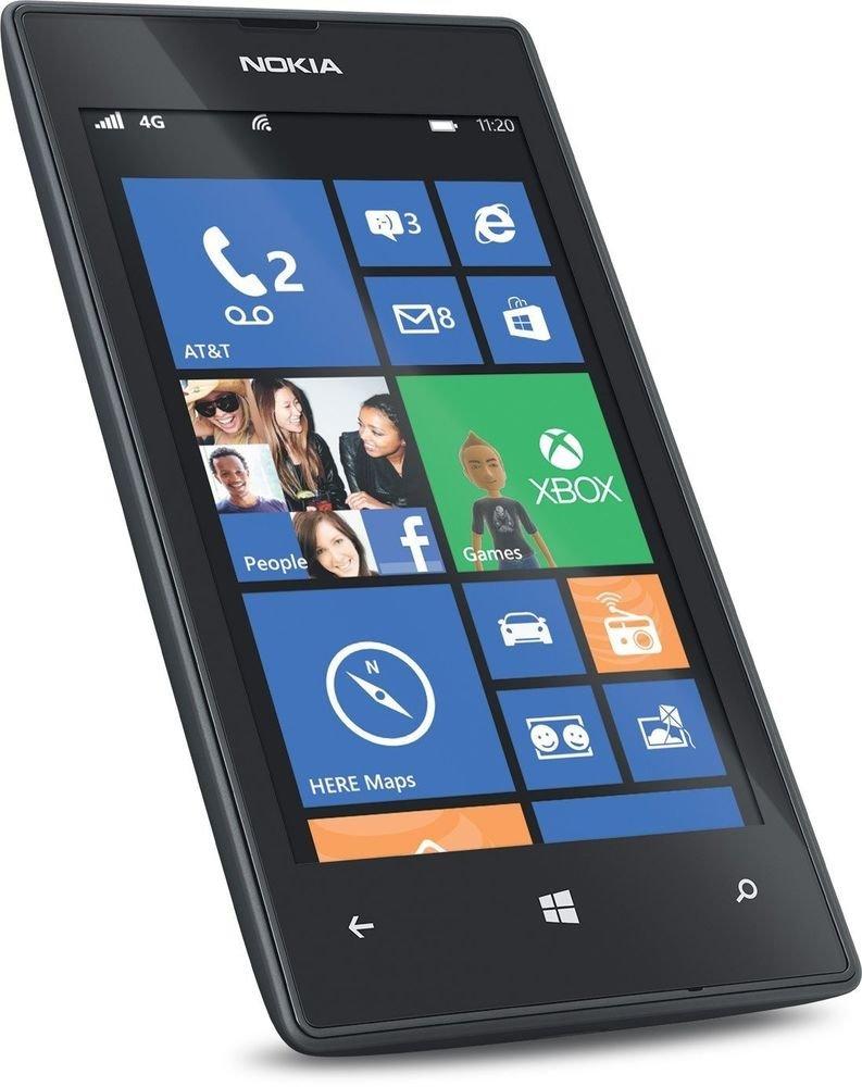 Nokia Lumia 520  Black  Smartphones