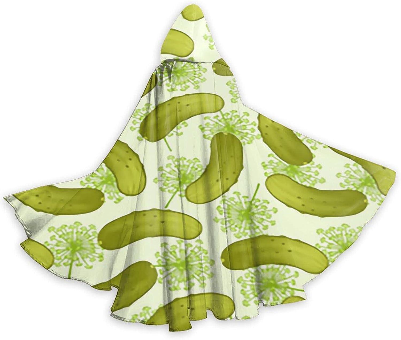 Halloween Cloak Cape Sale item Dill 1 year warranty Costume Pickles H Cool