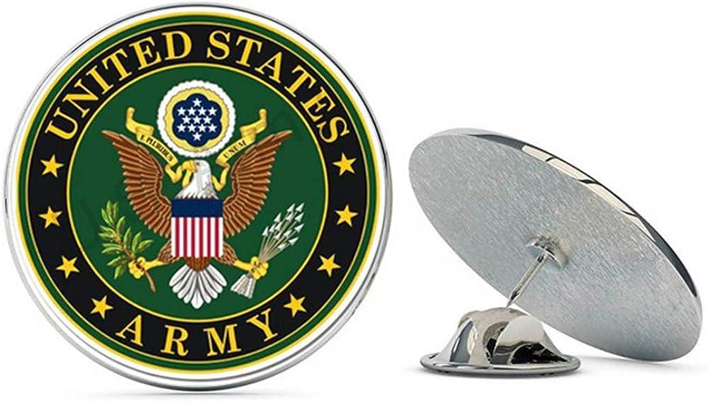 NYC Jewelers United States Army Seal Metal 0.75